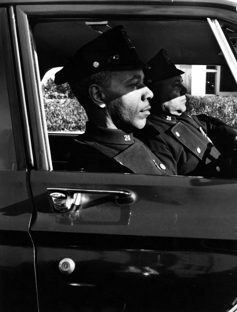 The Cops , New York, 1964 Silver Gelatin Print 20 x 16 inch