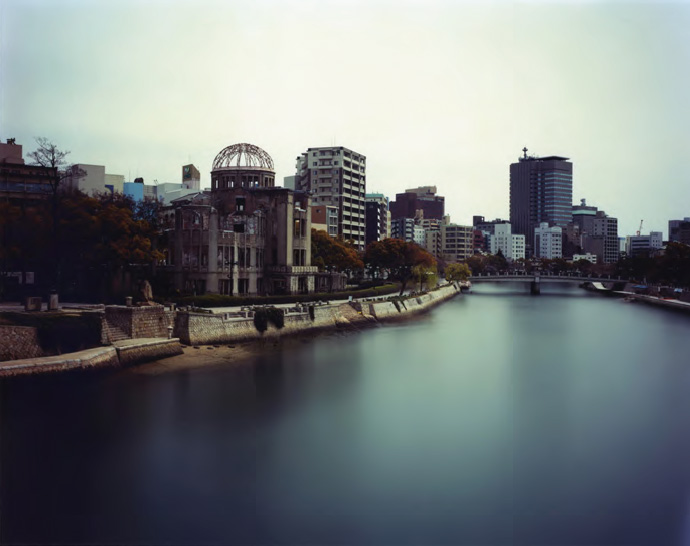 Sunrise to Sunset, Released Point of Atomic Bomb, Hiroshima , from the series 'One Day,' 2009