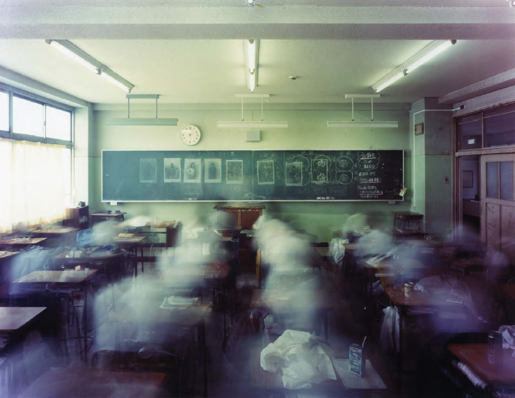 Morning to Evening, Classroom in Sobudai High School, Kanagawa , from the series 'One Day,' 2008
