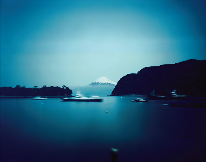 Morning to Evening, Mt. Fuji and Heda-port, Shizuoka , from the series 'One Day,' 2009