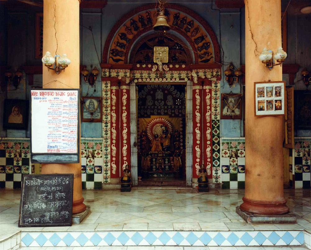 Hindu Temple, North Calcutta, India , 1998