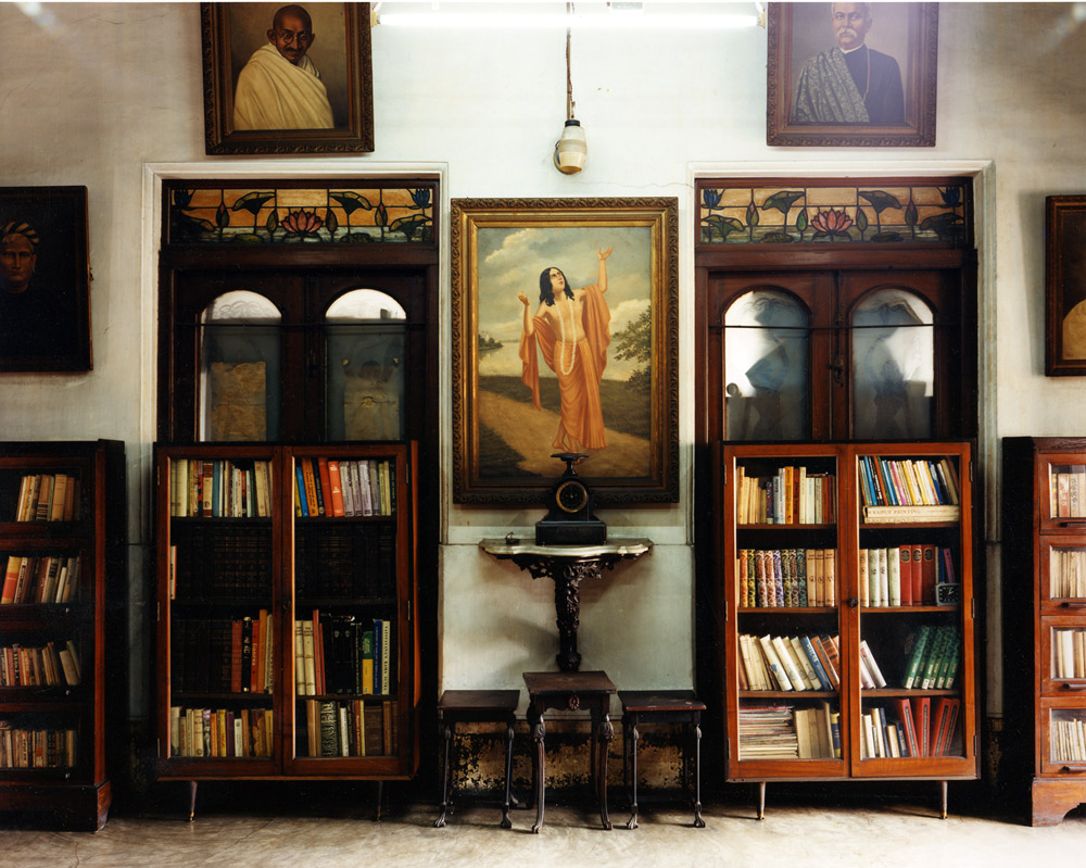 Library, Miss Pal's House, North Calcutta, India