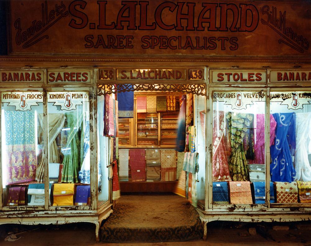 Saree Shop, Newmarket, Calcutta, India