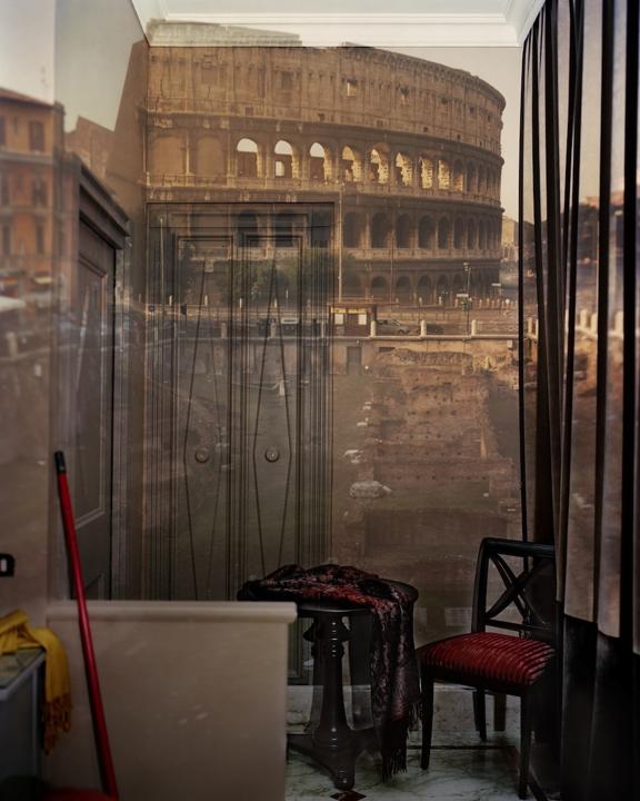Camera Obscura: The Coliseum Inside Room #23 at the Hotel Gladiatori, 2007