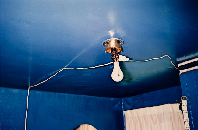 Untitled (Blue ceiling), 1970-1973 Dye Transfer Print 16 x 20 inches