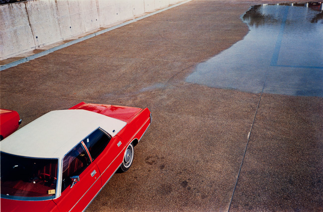 Untitled (Red car), 1970-1973 Dye Transfer Print 16 x 20 inches
