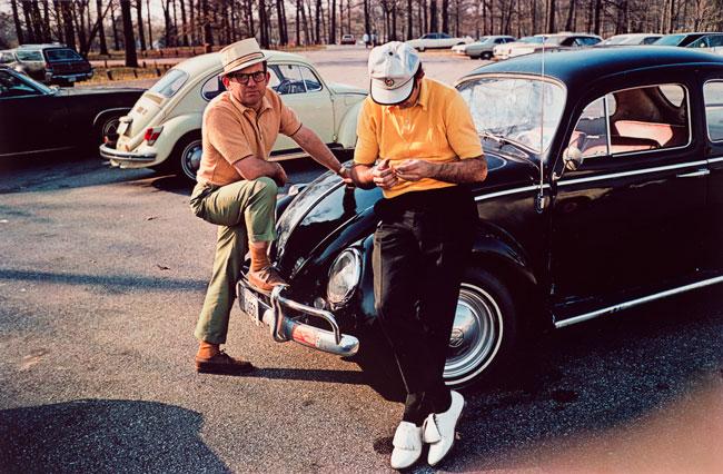 Untitled (Golfers), 1970-1973 Dye Transfer Print 16 x 20 inches
