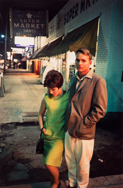 Untitled (Young couple), 1970-1973 Dye Transfer Print 20 x 16 inches