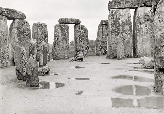 Yale Center for British Art Paul Caponigro's Stonehenge photo from Wiltshire in 1977.