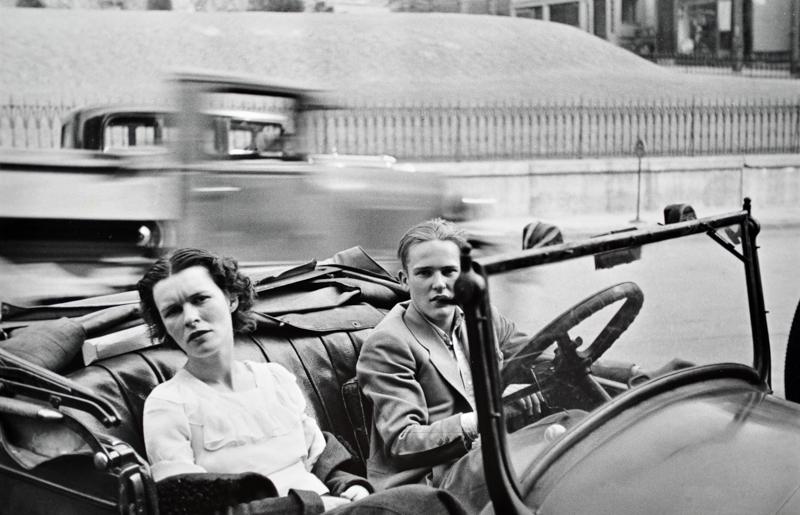Walker Evans, Main St., Ossining , New York, 1932