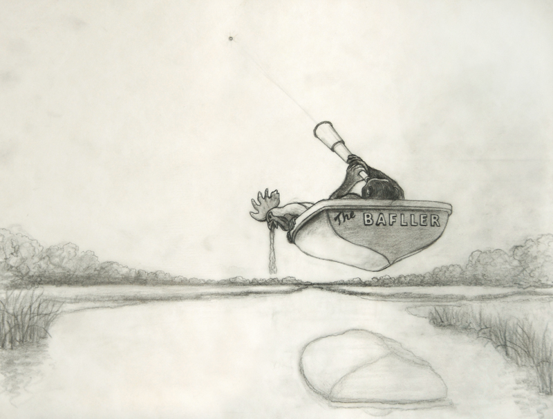 Steve Galloway, The Baffler  [Prep Drawing], 2009