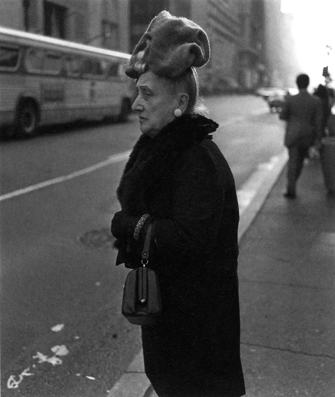 Diane Arbus,  Woman in Floppy Hat , NYC, 1970