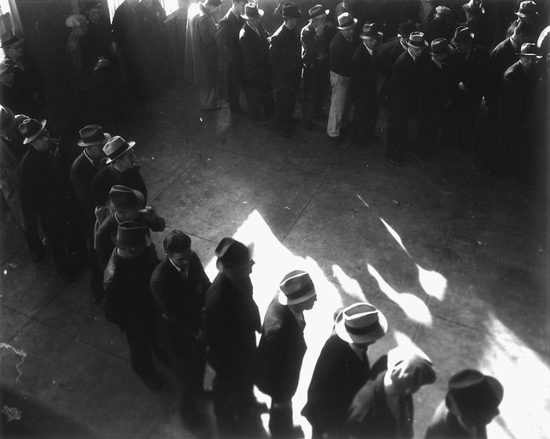 Dorothea Lange, Social Security, San Francisco , 1937