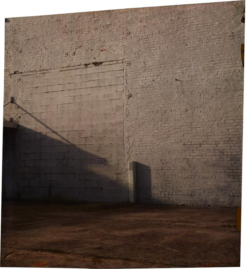 Delta at 1st, South , 2013 Image on Ilfochrome paper, unique photograph 30 x 27 inches