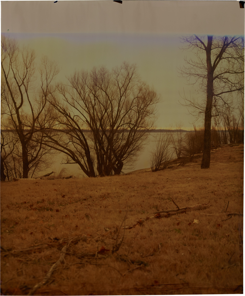 Friar's Point at Mississippi, V_2 , 2014 Image on Ilfochrome paper, unique photograph 34 x 28 inches