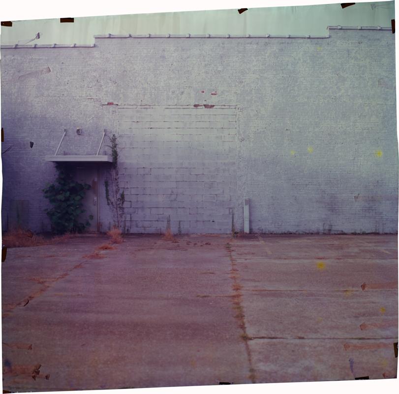 Delta at 1st, South , 2014 Image on Ilfochrome paper, unique photograph 50 x 55 inches