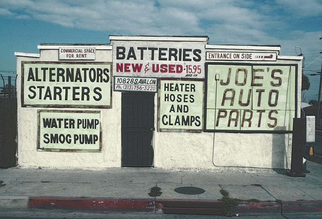 Camilo José Vergara , 10828 S. Avalon Blvd., LA, 1996 , from Time Lapse