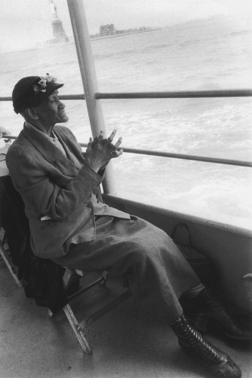 Bruce Davidson , Untitled , (Mother Brown on ferry), from Time of Change , 1961-65
