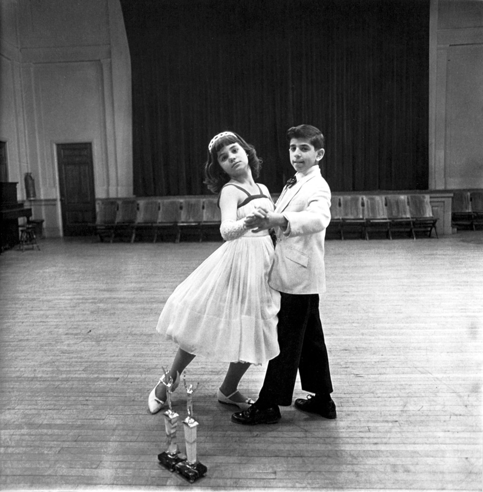Diane Arbus ,  The Junior Interstate Ballroom Dance Champions, Yonkers, NY , 1962