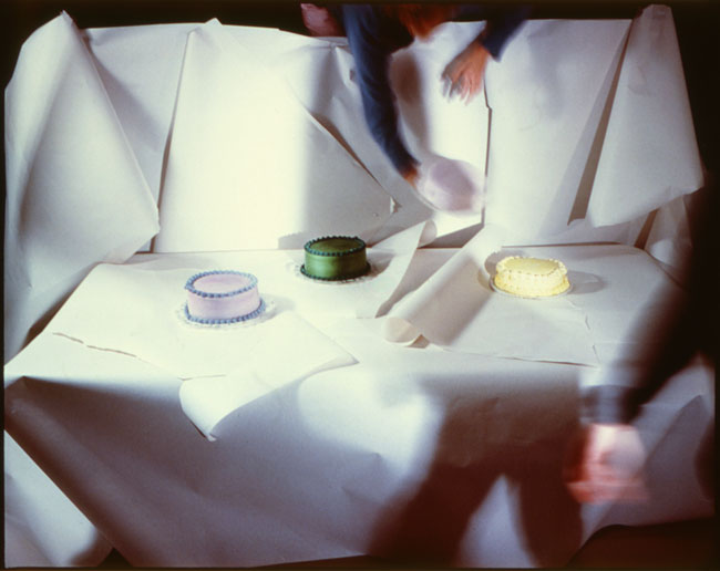 Four Cakes , 1984 Vintage Cibachrome Print 30 x 40 inches