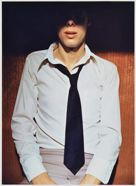 Man in Tie , 1976 Vintage Dye Transfer print 24x 20inches