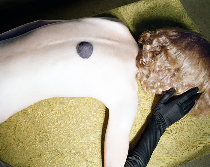 Untitled , from Early Color Portfolio, Circa 1976 Photography by Jo Ann Callis, Copyright Jo Ann Callis, Courtesy of ROSEGALLERY