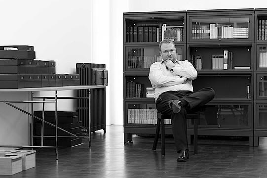 Portrait of Elger Esser (Photo: Nicolas Cattelain)