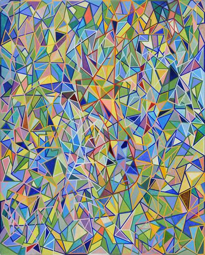 Shaun McCracken,    The Pearl   , 2015 Egg tempera on panel,20 x 16 inches