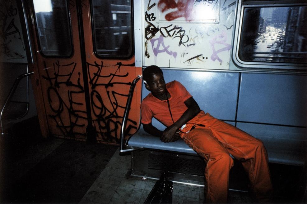 Untitled  (Man orange pants), early 1980s Dye Transfer Print 20 x 24 inches