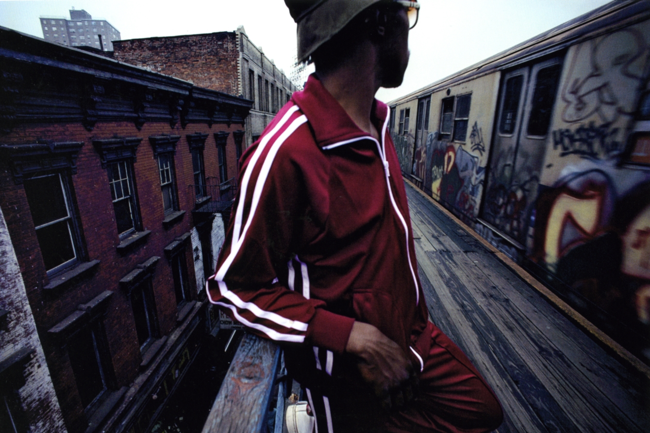 Untitled  (Red tracksuit), early 1980s Dye Transfer Print 20 x 24 inches