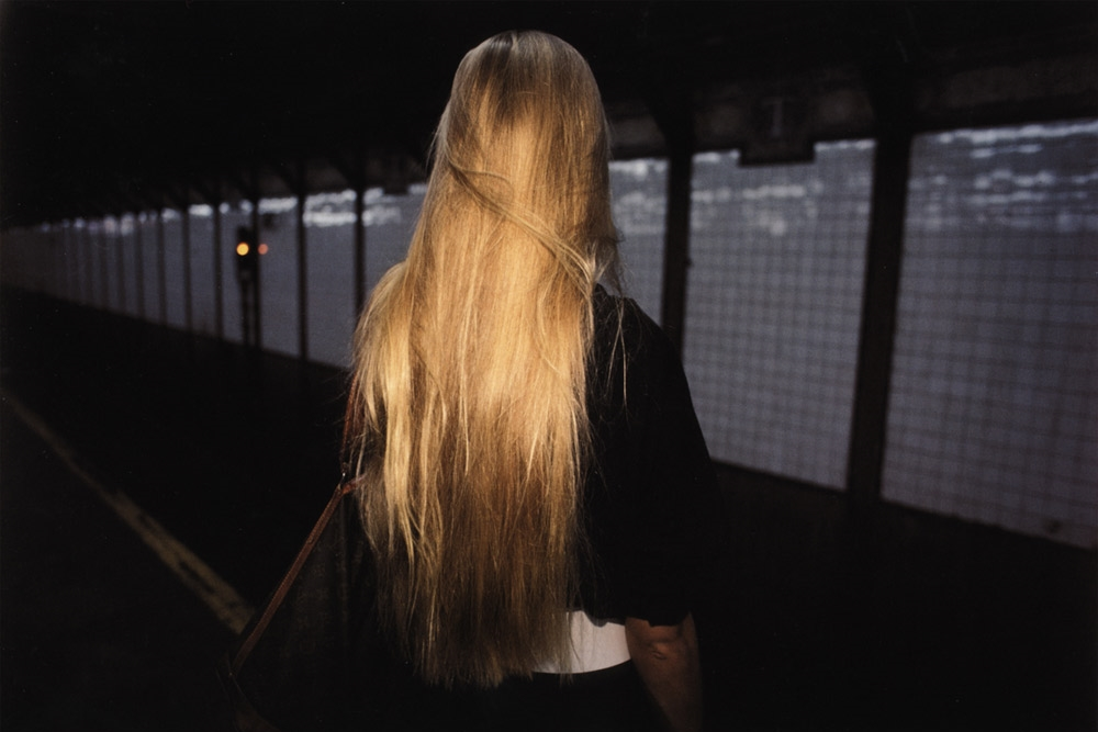 Untitled  (Blonde hair), early 1980s Dye Transfer Print 20 x 24 inches