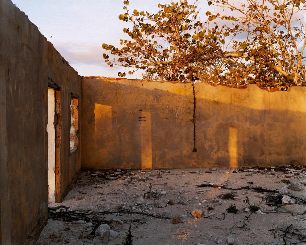 Former Counter-revolutionary Prison Camp, Uvero Quemada,  2005 C-print 20 x 24 inches