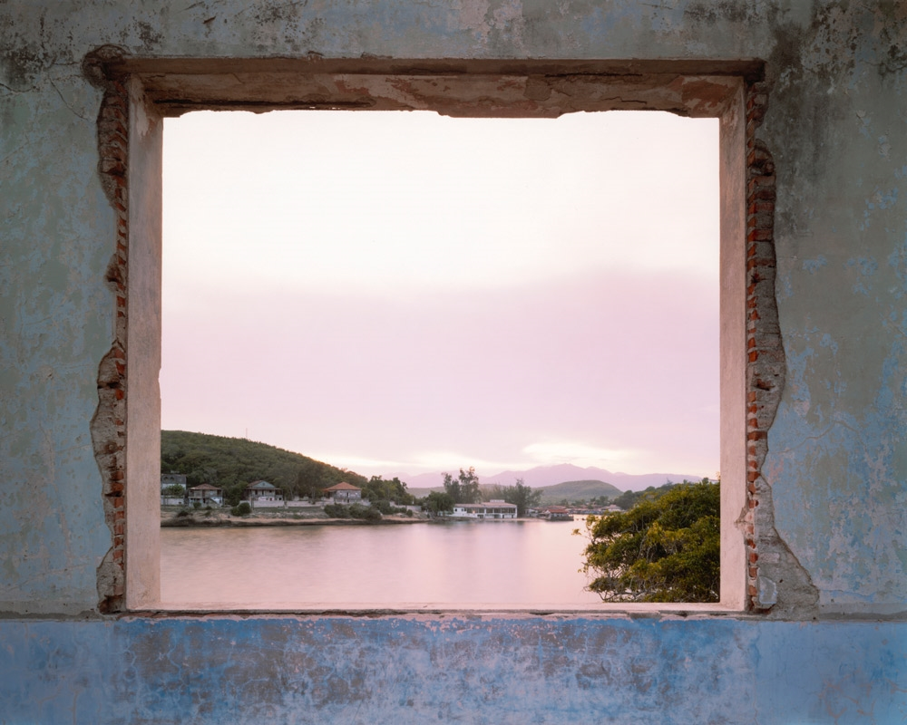 View from the ruins of Club Nautica, Santiago de Cuba,  2004 C-print 20 x 24 inches