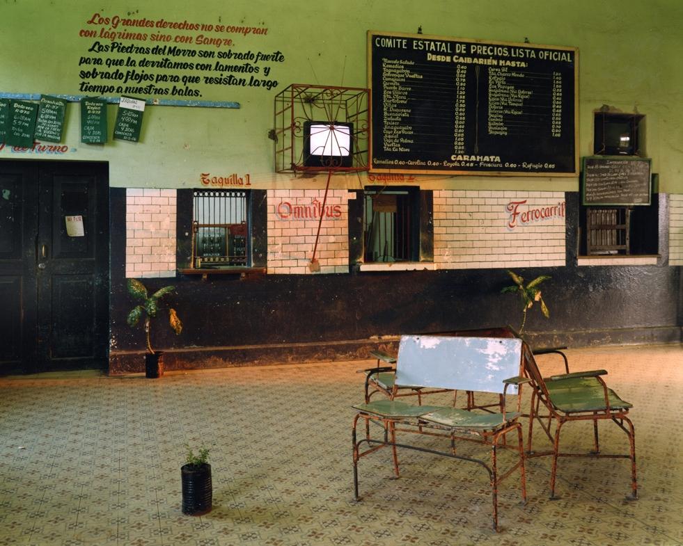 Train Station, Caibarién,  2006 C-print 20 x 24 inches