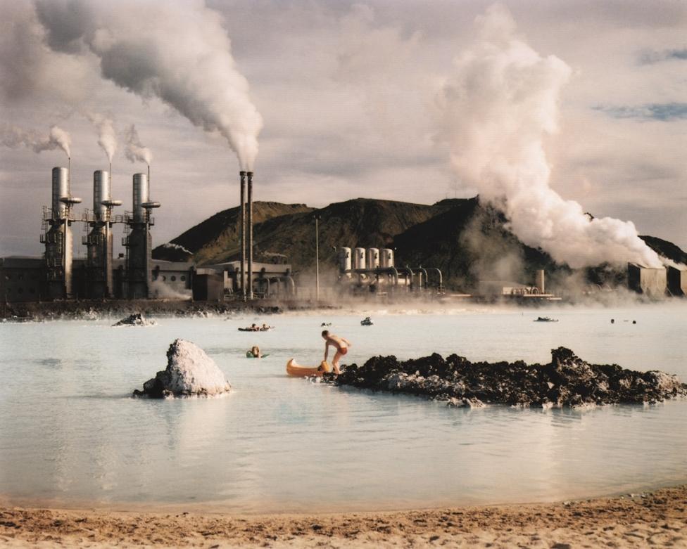 The Blue Lagoon, Svartsengi Geothermal Pumping Station, Iceland , 1988