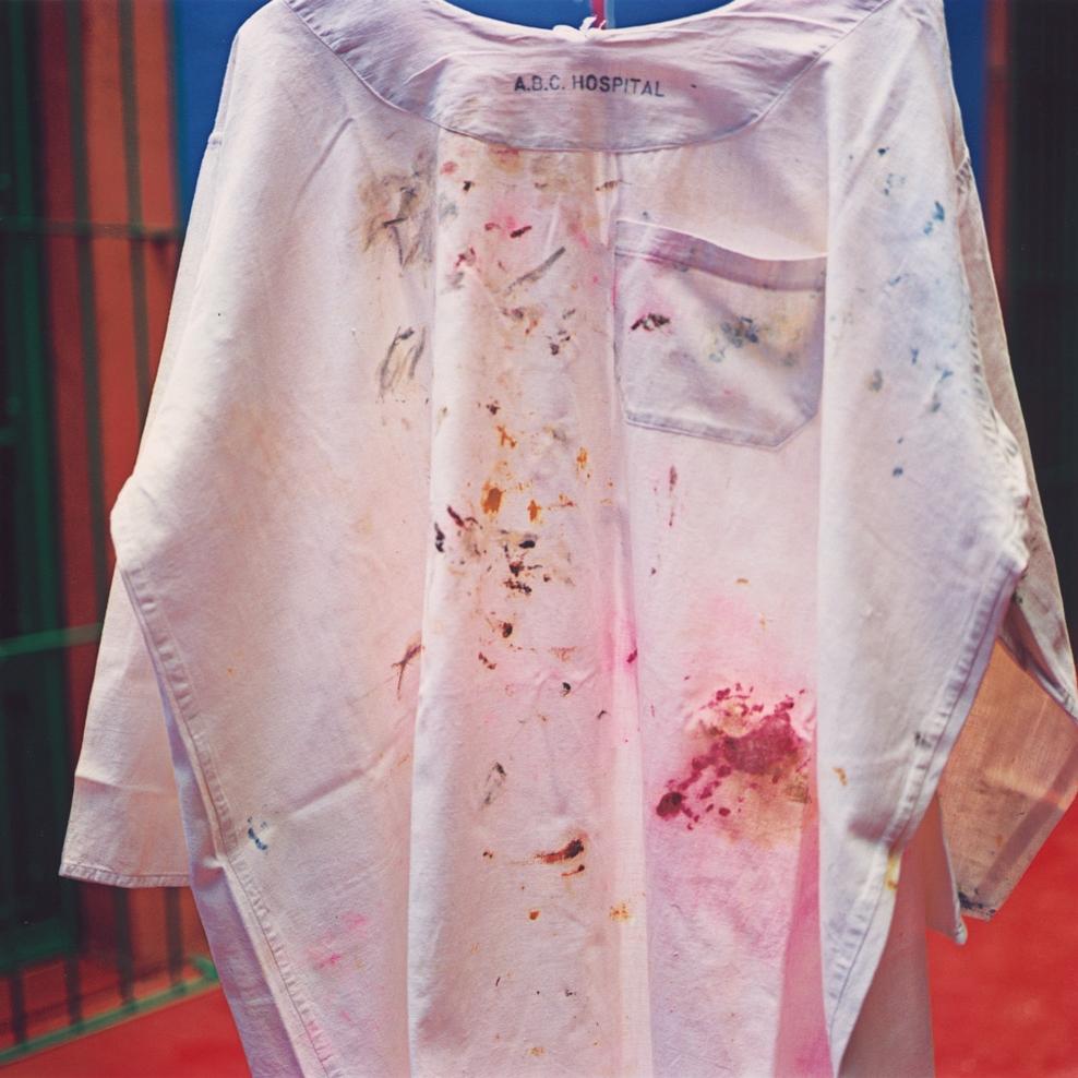 Untitled , Casa de Frida Kahlo, Coyoacan, Mexico, 2005 Dye Transfer Print Sheet 17 x 14 inches/Image 12 x 12 inches