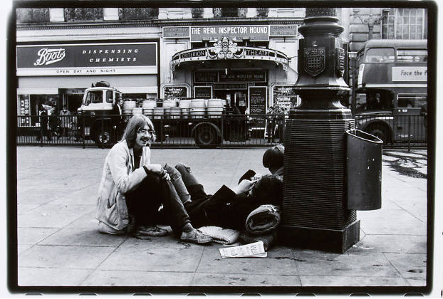 Gian Butturnini: 'Living London' 1969.