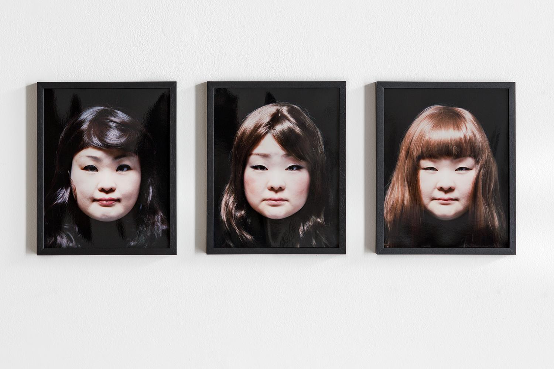 Tomoko Sawada, Facial Signature ,2015. (© Tomoko Sawada / ROSEGALLERY)