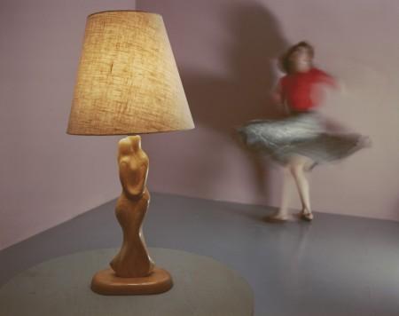 """Jo Ann Callis, """"Woman Twirling"""" (1985)"""