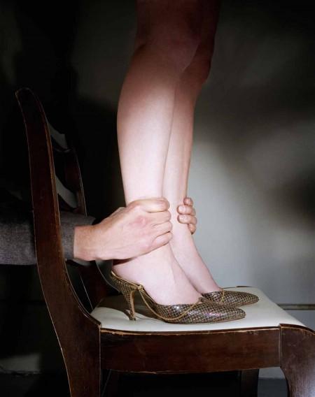"""Jo Ann Callis, """"Hands on Ankles"""" (1976-77)"""