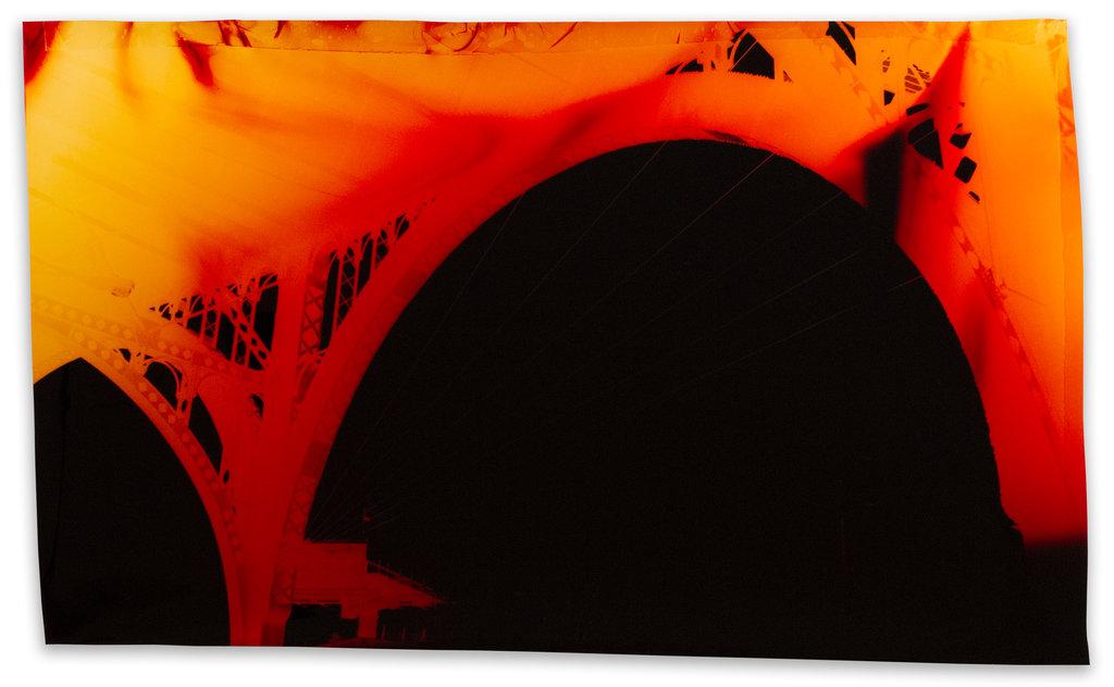West 135th Street at 12th Avenue , 2016. Negative Chromogenic Photograph Unique ©John Chiara, via Yossi Milo Gallery, New York