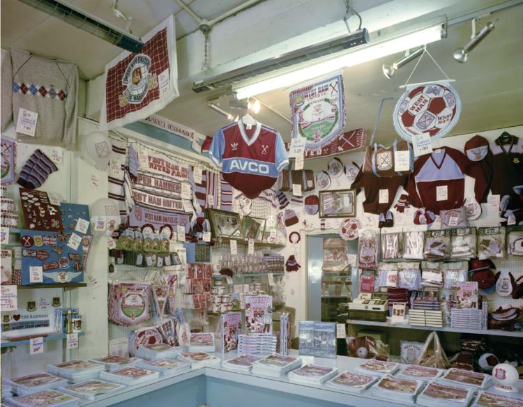 Jim Dow,  The Club Shop , 1985