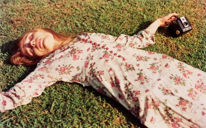 Untitled, c.1975 (Marcia Hare in Memphis Tennessee) by William Eggleston CREDIT: EGGLESTON ARTISTIC TRUST