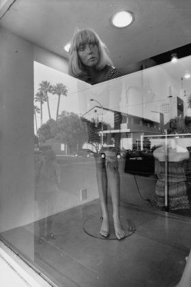 """Lee Friedlander, """"Mannequin Tucson,"""" 2011. Gelatin Silver Print. The Conger Family Collection"""