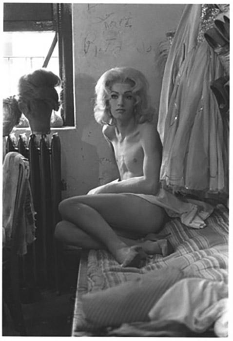 Diane Arbus  Female Impersonator on a Bed, N.Y.C. , 1961 14 x 11 inch Silver Gelatin Print