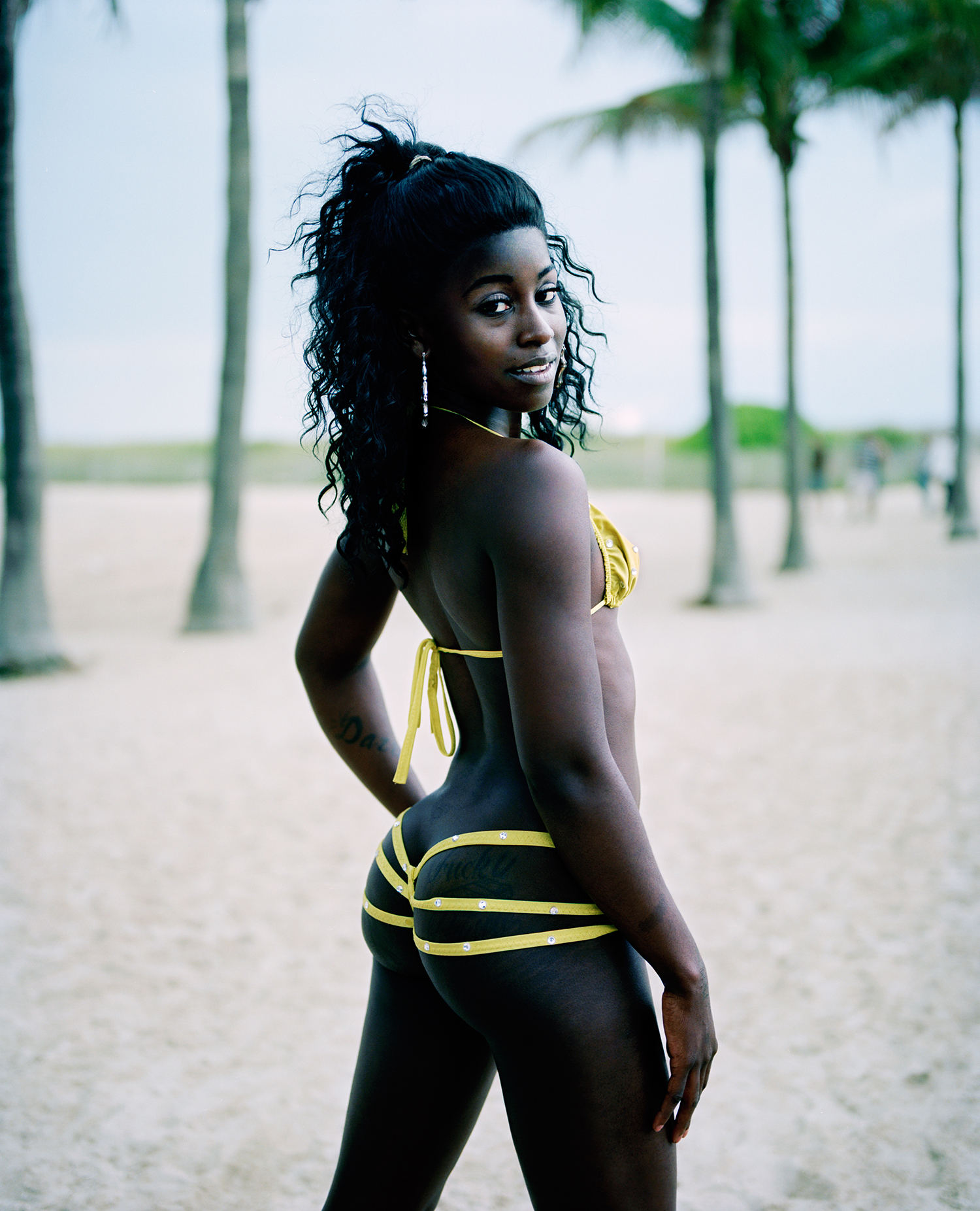 Wayne Lawrence  Kira, Ocean Drive, South Beach , 2009 20 x 16 inch Archival Pigment Print In a limited edition of ten