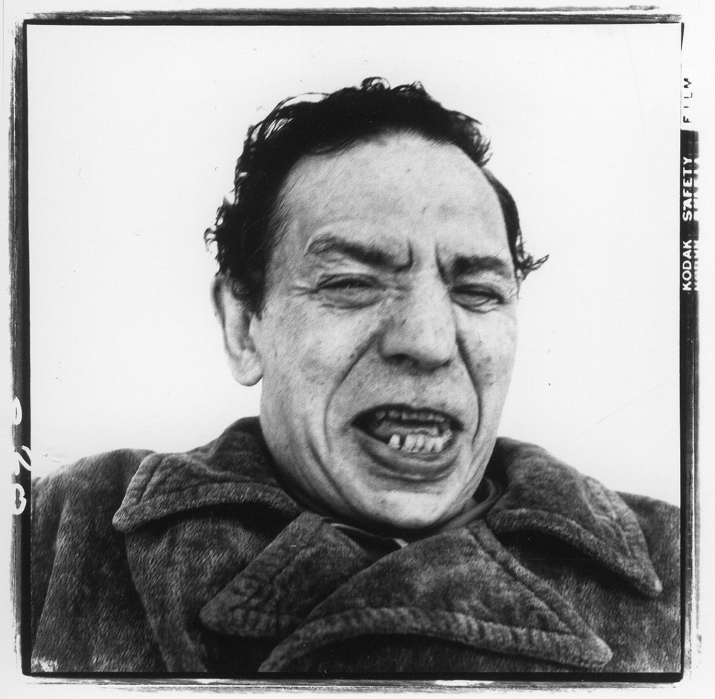 Richard Avedon  Oscar Levant, Pianist, Beverly Hills, CA,  1972 20 x 16 inches Vintage Silver Gelatin Print