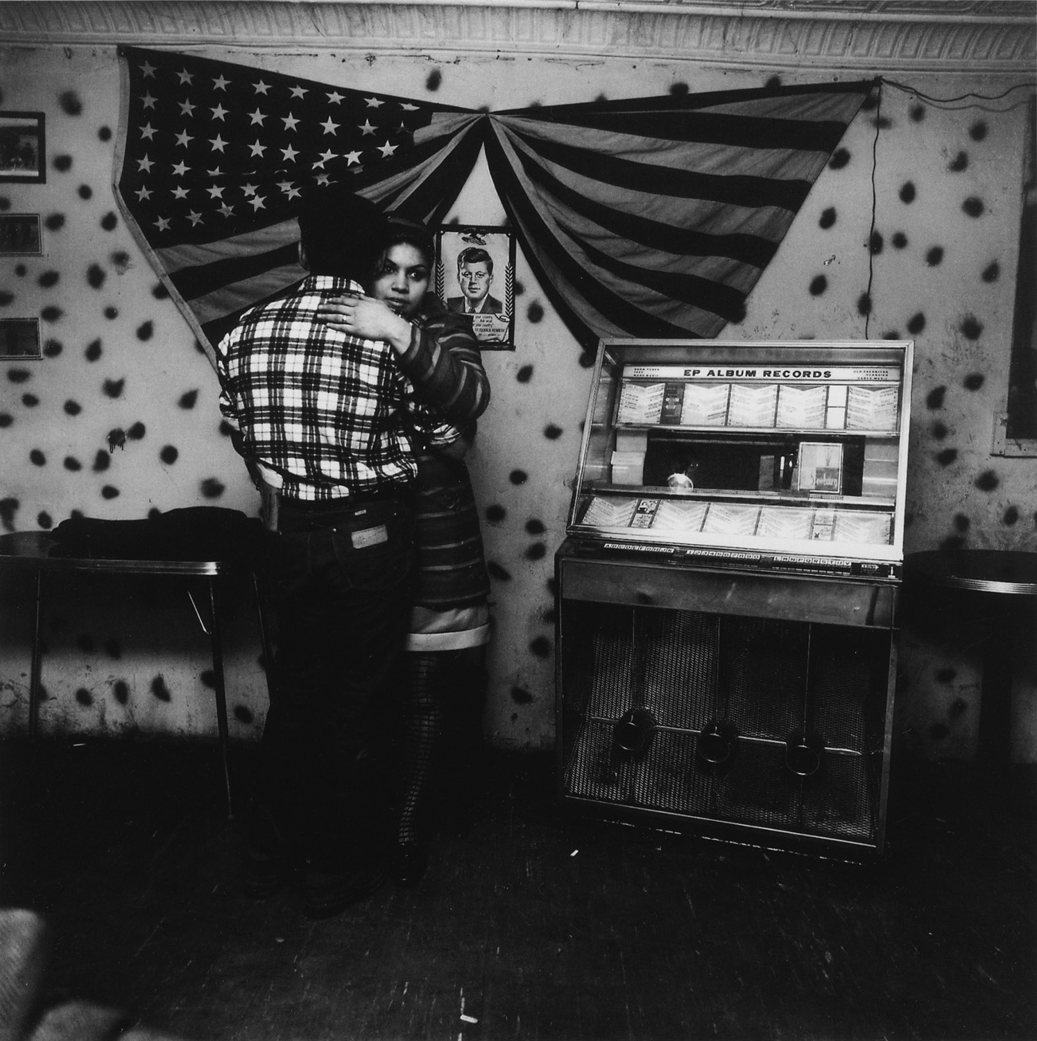 Bruce Davidson,  Untitled,  from  East 100th St,  1966.