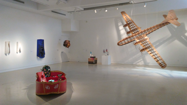 Installation views via Torrance Art Museum, 2017