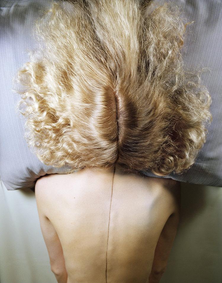 Jo Ann Callis, Woman with Blond Hair, 1977